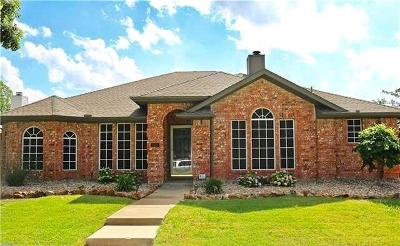 Rowlett Single Family Home Active Option Contract: 7001 Battle Creek Drive