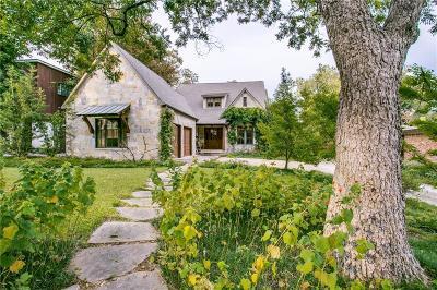 Dallas Single Family Home For Sale: 7155 Wildgrove Avenue