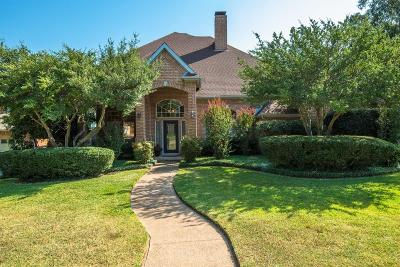 Grapevine Single Family Home Active Option Contract: 2821 Woodland Hills Drive