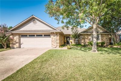 Mansfield Single Family Home Active Option Contract: 1309 Highland Drive