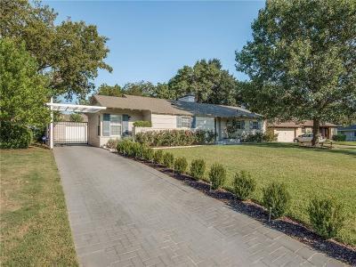 Dallas Single Family Home For Sale: 9962 Elmada Lane