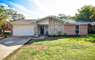 Carrollton Single Family Home Active Option Contract: 1805 Westwood Circle