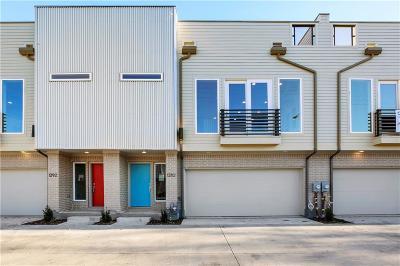 Dallas Townhouse For Sale: 1282 N Prairie Avenue