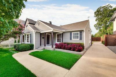 Dallas Single Family Home For Sale: 4815 W Amherst Avenue