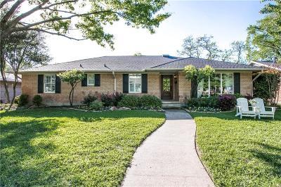 Dallas Single Family Home For Sale: 9460 Spring Branch Drive