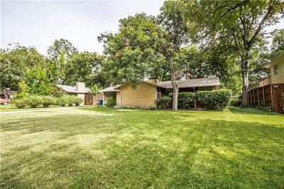 Dallas Single Family Home For Sale: 8558 Eustis Avenue