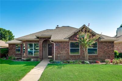 Allen Single Family Home Active Option Contract: 1522 Evergreen Drive