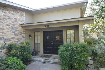 Allen Single Family Home Active Option Contract: 1206 Creekwood Court