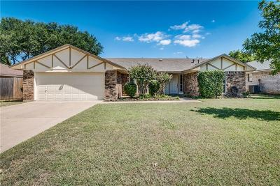 Grapevine Single Family Home Active Option Contract: 2924 Kimberly Drive