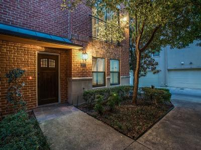 Dallas Townhouse For Sale: 2411 N Hall Street #8