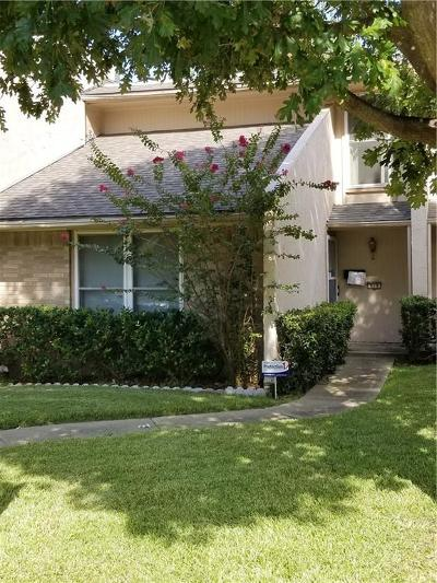 Garland Townhouse For Sale: 419 Arborview Drive
