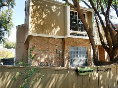 Irving Townhouse For Sale: 2419 Southlake Court