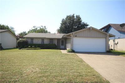 Garland Single Family Home For Sale: 1410 Archery Ln