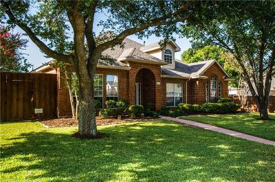 Richardson Single Family Home Active Option Contract: 3417 Norwood Circle