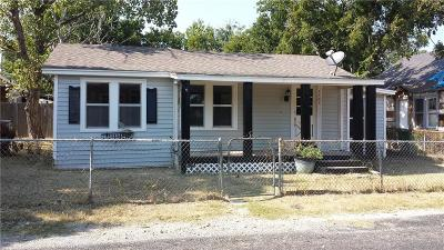 Stephenville TX Single Family Home For Sale: $64,500