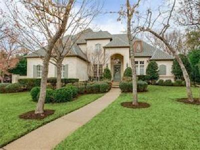 Southlake TX Single Family Home For Sale: $845,000