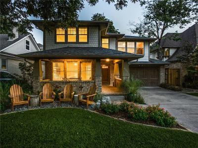Dallas Single Family Home Active Option Contract: 6318 Goliad Avenue