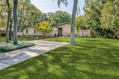 Dallas Single Family Home For Sale: 8379 San Benito Way