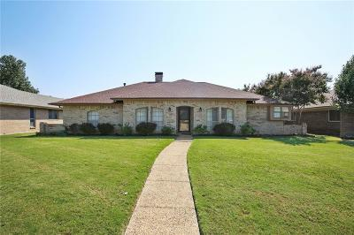 Richardson Single Family Home Active Option Contract: 1508 Meadow Glen Street