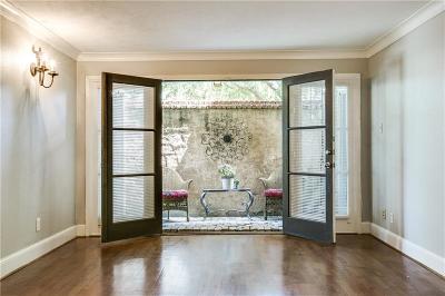 Dallas Condo For Sale: 5925 E University Boulevard #133