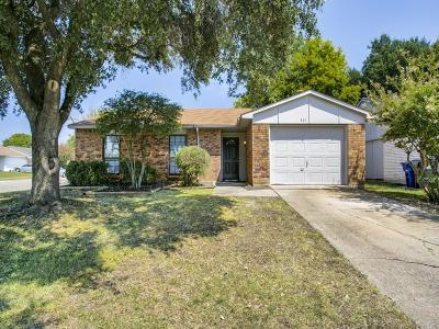 Allen Single Family Home For Sale: 507 Oldbridge Drive