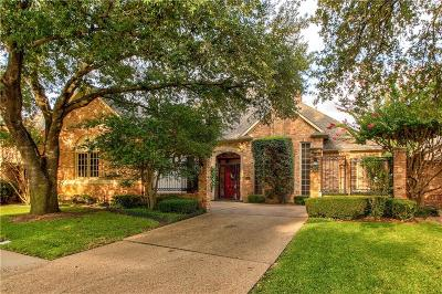 Dallas Single Family Home For Sale: 13731 Creekside Place