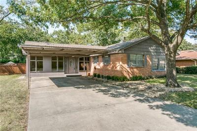 Dallas Single Family Home For Sale: 11029 Cactus Lane