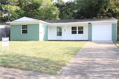 Farmers Branch Single Family Home For Sale: 2520 Fieldale Drive