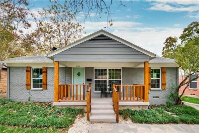 Dallas Single Family Home For Sale: 2426 San Paula Avenue