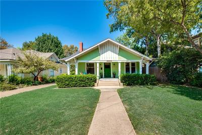 Dallas Single Family Home For Sale: 5533 Victor Street