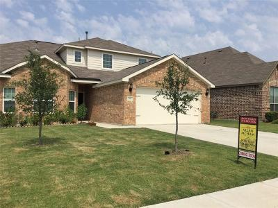 Forney Single Family Home For Sale: 3012 Marble Falls Drive