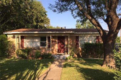 Dallas Single Family Home For Sale: 10306 Shiloh Road