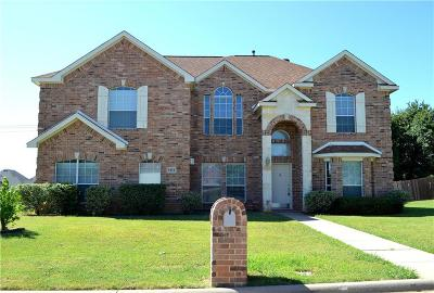 Mansfield Single Family Home For Sale: 1311 Vistawood Drive