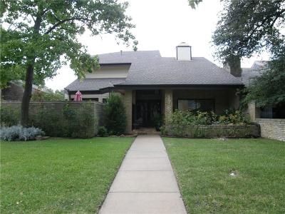 Dallas Half Duplex Active Option Contract: 17635 Sunmeadow Drive