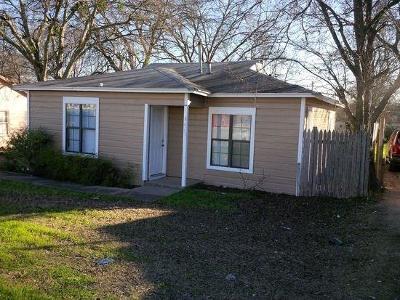White Settlement Single Family Home For Sale: 8417 White Settlement Road