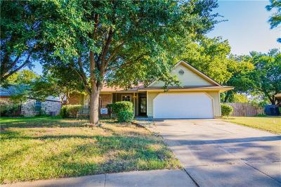 Euless Single Family Home Active Option Contract: 422 Thoreau Lane