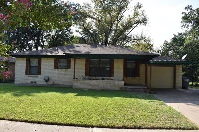 Wylie Single Family Home Active Option Contract: 308 S 4th Street