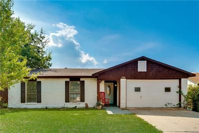 The Colony Single Family Home Active Contingent: 5309 Rutledge Court