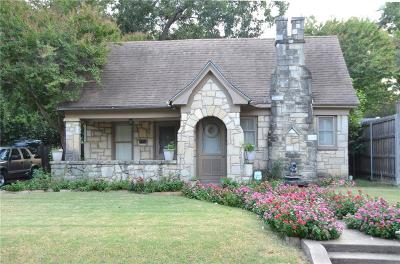 Dallas Single Family Home For Sale: 5223 Maple Springs Boulevard