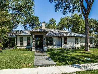 Dallas Single Family Home For Sale: 5225 Edmondson Avenue