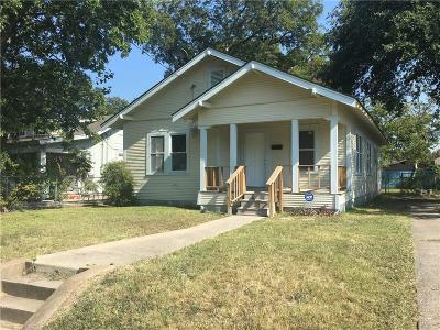 Dallas Single Family Home For Sale: 4814 Gurley Avenue