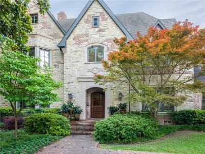 Dallas Single Family Home For Sale: 6122 Desco Drive