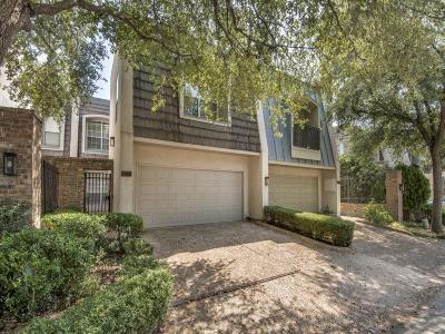 Dallas Townhouse For Sale: 9222 Esplanade Drive