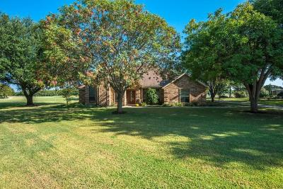 Haslet Single Family Home Active Option Contract: 13640 Willow Springs Road