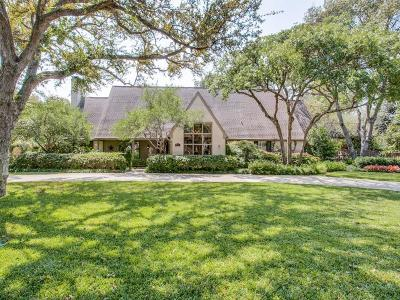 Dallas Single Family Home For Sale: 7150 Kendallwood Drive