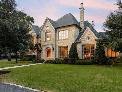 Dallas Single Family Home For Sale: 6407 Meadow Road