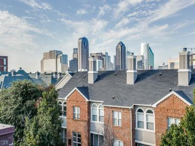 Dallas Townhouse For Sale: 2420 Hugo Street #3