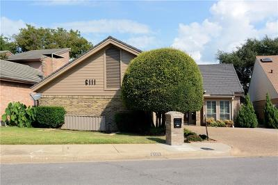 Single Family Home For Sale: 6111 Twin Oaks Circle