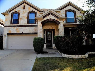 Fort Worth TX Single Family Home For Sale: $350,000