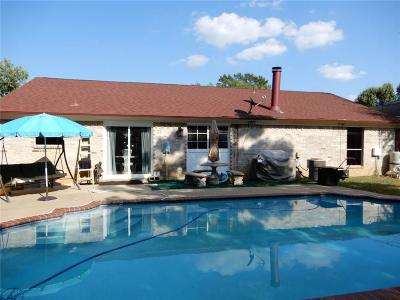 Arlington Single Family Home Active Option Contract: 6100 Cool Springs Drive